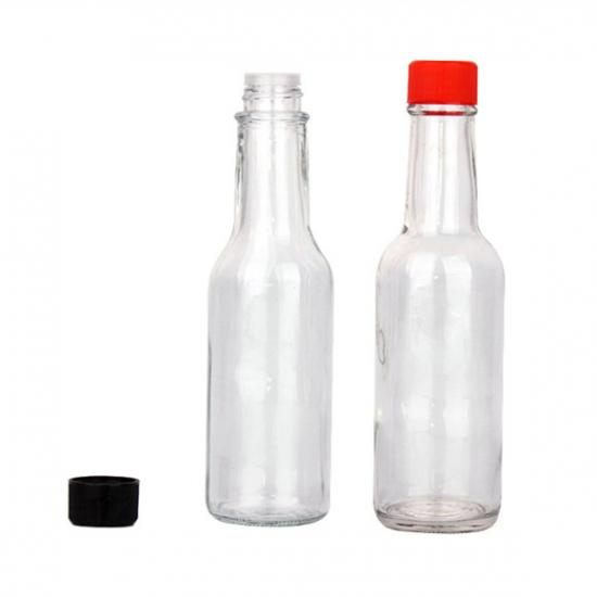 glass salad dressing bottle