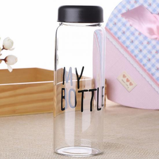 best glass water bottle