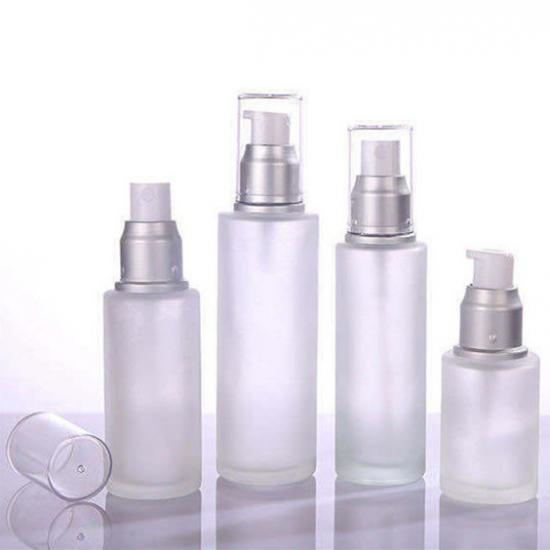 glass lotion pump bottles